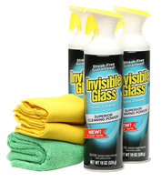 Invisible Glass Premium Glass Cleaning Kit