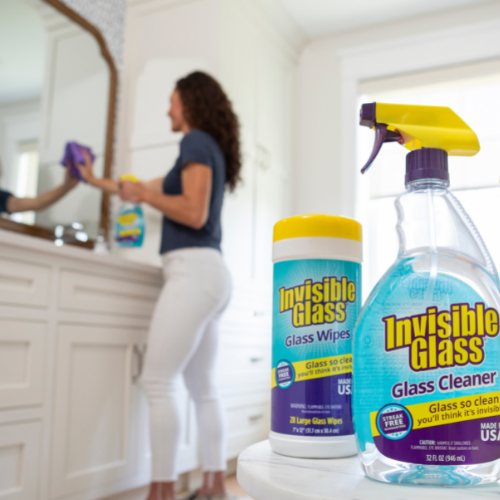 Invisible Glass, residue free glass cleaner for home and car