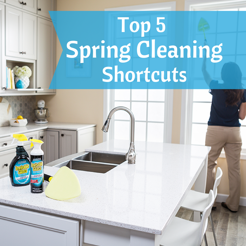 Top 5 Spring Cleaning Shortcuts